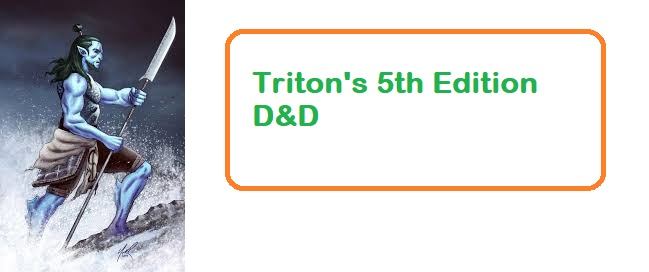 Triton 5e (5th Edition) dnd