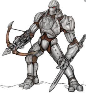 Warforged 5e (5th Edition) Race in Dungeons and dragons game