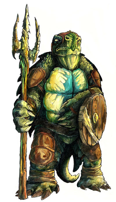 Tortle 5e (5th Edition) in D&D