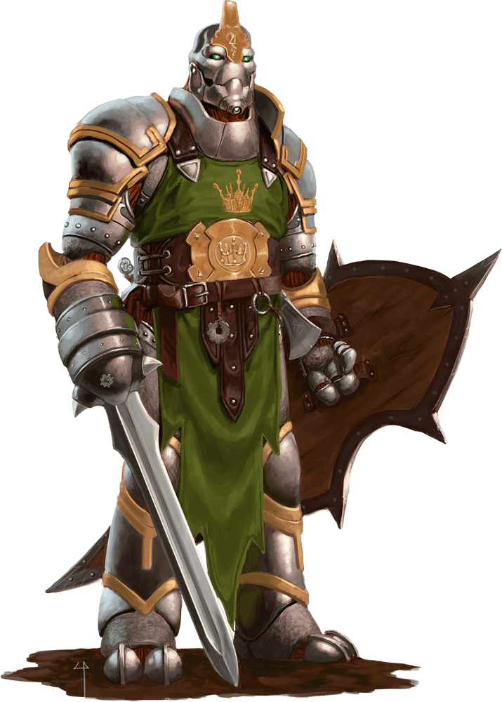 Warforged 5e race for dungeons and dragons